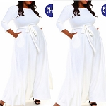 Marshmallow Maxi dress