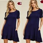 Navy Gurl dress