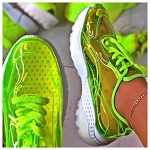 Lime Sneakers
