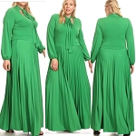 Above the Greenline Maxi Dress
